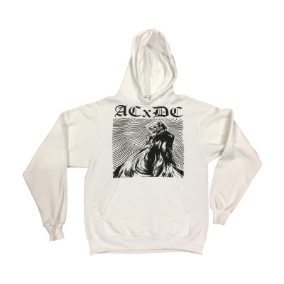 acxdc - Ghost Pullover (White)