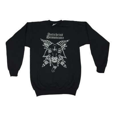 acxdc - Goat Crew Neck Sweater (Black)