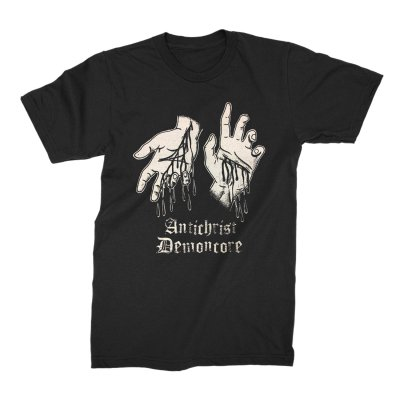 ACxDC - ACxDC Slit Wrists T-shirt (Black)
