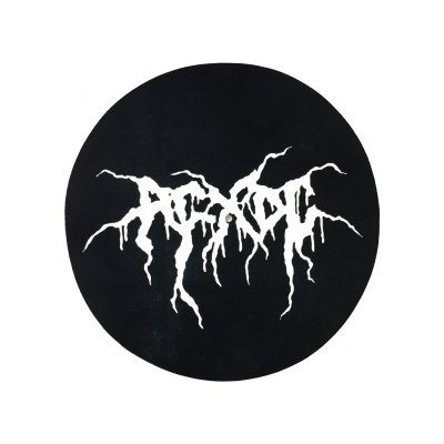acxdc - Black Metal Slipmat (Black)