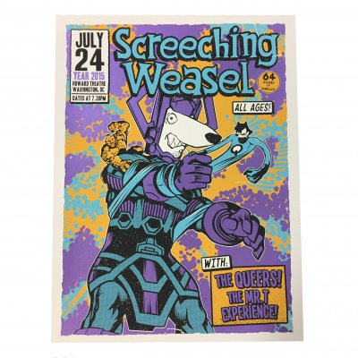 screeching-weasel - 7.24.15 Washington DC Poster