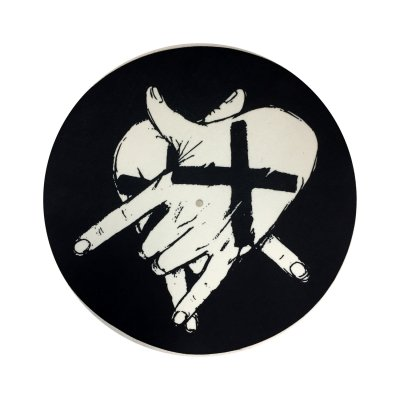 ACxDC - Pentagram Hands Slipmat (Black)