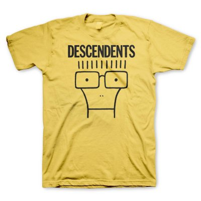 descendents - Classic Milo Tee (Yellow)