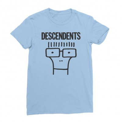 descendents - Classic Milo Women's Tee (Carolina Blue)