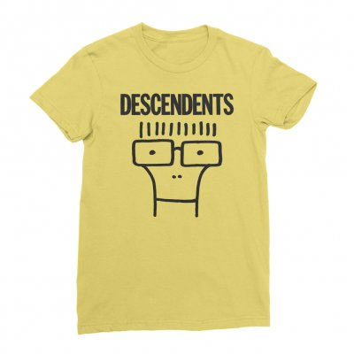 descendents - Classic Milo Women's Tee (Yellow)
