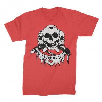 Discharge - Born To Die T-Shirt (Red)