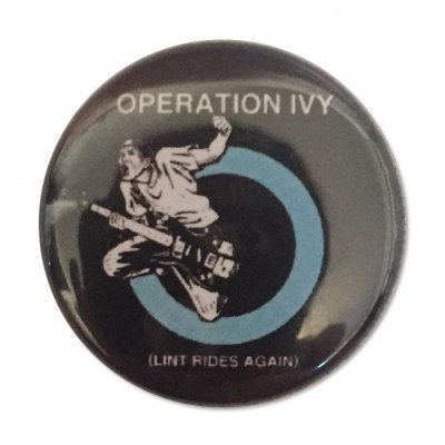 Operation Ivy - Lint Rides Button