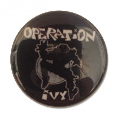 Operation Ivy Ska Man Button