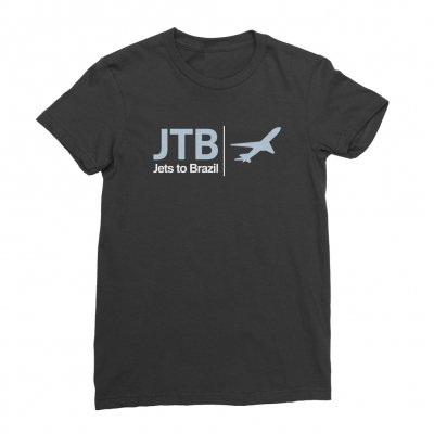 jade-tree - Airplane Tee (Black)