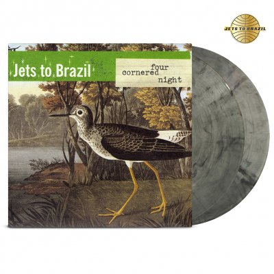 Jets To Brazil - Four Cornered Night 2xLP (Clear/Black)