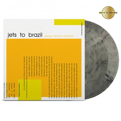 Jets To Brazil - Orange Rhyming Dictionary 2xLP (Clear/Black)