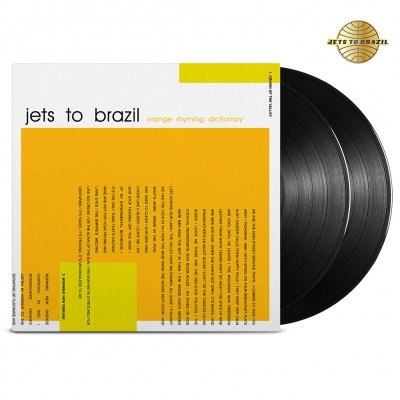 Jets To Brazil - Orange Rhyming Dictionary 2xLP (Black 180)
