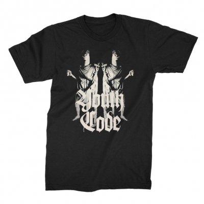 youth-code - Twin Statue T-shirt (Black)
