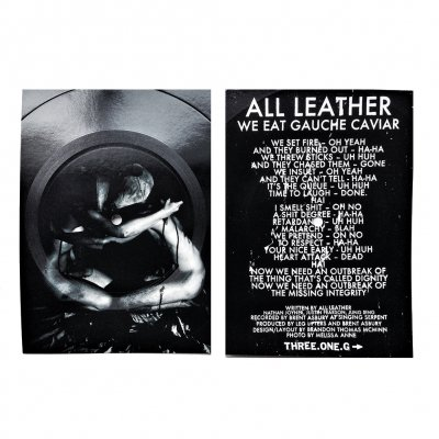 three-one-g - All Leather Flexi-Postcard