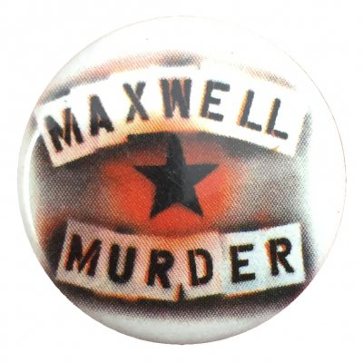 rancid - Maxwell Murder Stencil Button