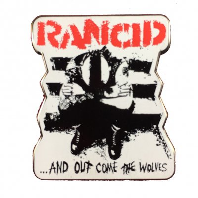 rancid - Rancid Wolves Enamel Pin
