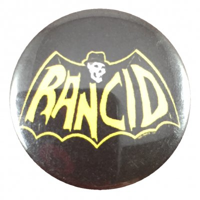 rancid - Skele-Tim Bat Button