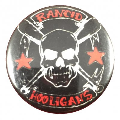 rancid - Hooligans Button