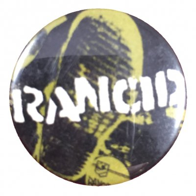 rancid - Honor Is All We Know Boot Button
