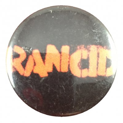 rancid - Stencil Button