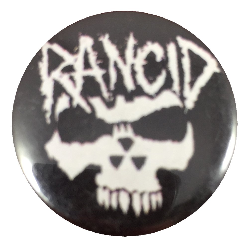 Angry Skull Button