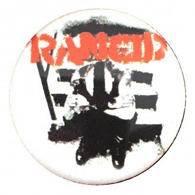 rancid - Wolves Button