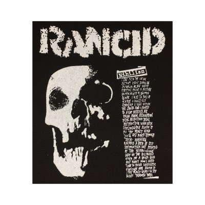 rancid - Nihilism Skull Cloth Patch