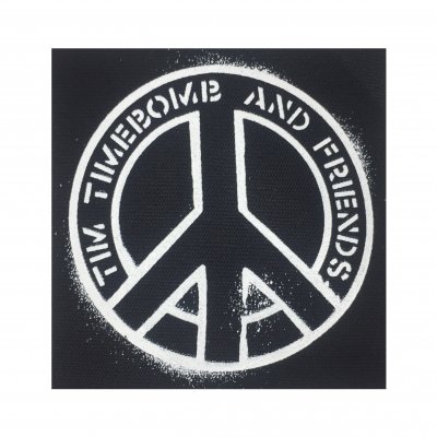 hellcat-records - Peace Back Patch