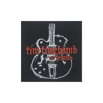 tim-timebomb - Guitar Embroidered Patch
