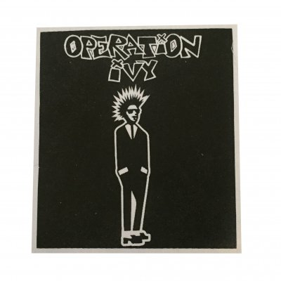 operation-ivy - Rude Boy Cloth Patch