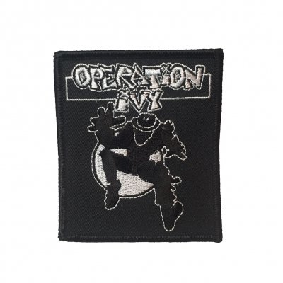Ska Man Embroidered Patch