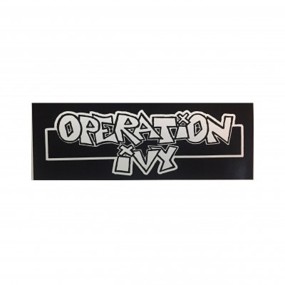 hellcat-records - Operation Ivy Logo Sticker