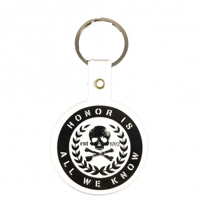 rancid - Honor Is All We Know Crest Rubber Keychain