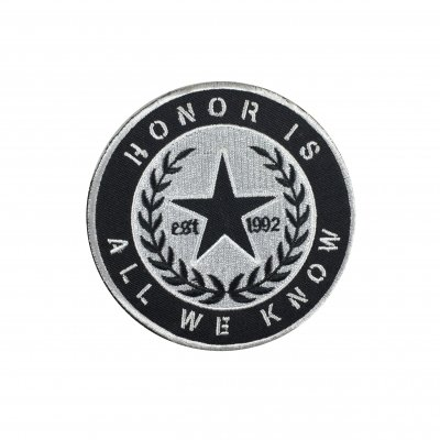rancid - Honor Is All We Know Crest Embroidered Patch
