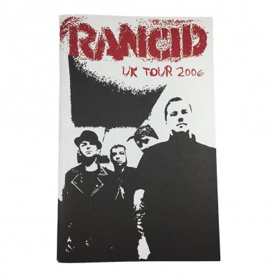 rancid - UK Tour 2006 Book