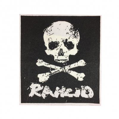 rancid - Rancid D-Skull Cloth Patch