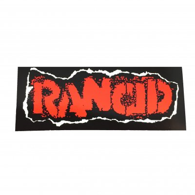 rancid - Stencil Logo Sticker