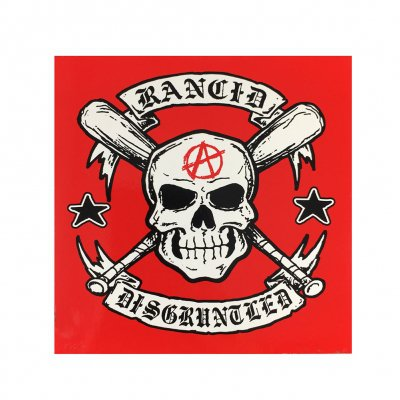 rancid - Disgruntled Skull Sticker
