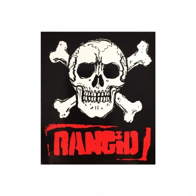 rancid - Old Skull Sticker