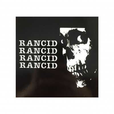 rancid - Glow Skull Sticker