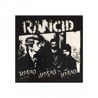 rancid - Radio Sticker