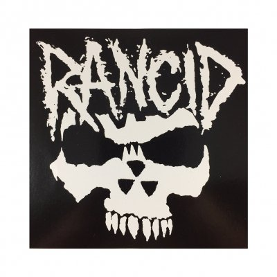rancid - Angry Skull Sticker