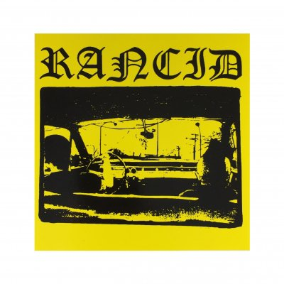 rancid - Driving Yellow Sticker