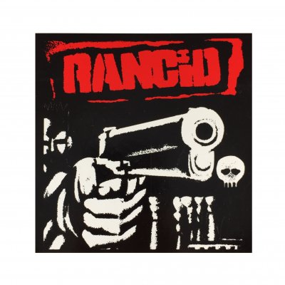 rancid - Rancid (1993) Album Sticker