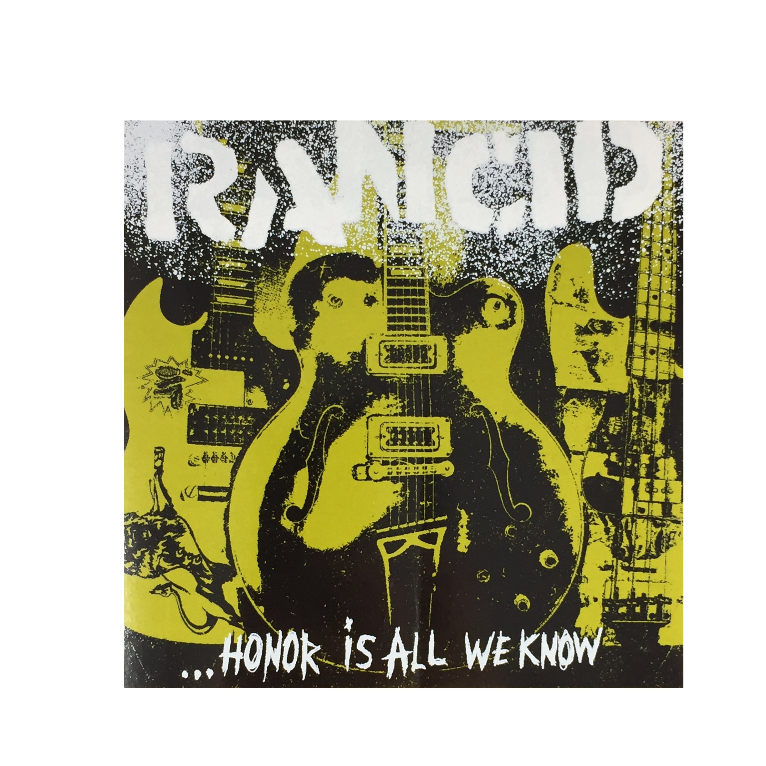 IMAGE   Honor Is All We Know Album Sticker