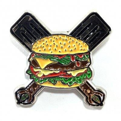 grill-em-all - Spatula Enamel Pin