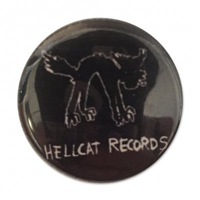 hellcat-records - Logo Button (Black)