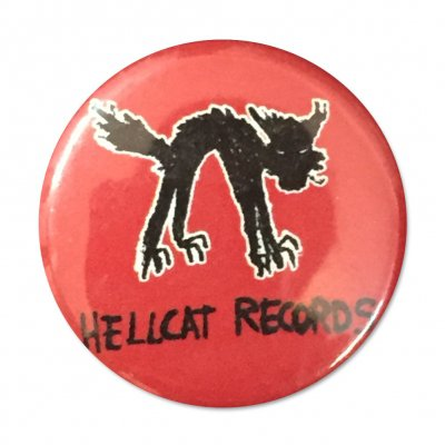 hellcat-records - Logo Button (Red)
