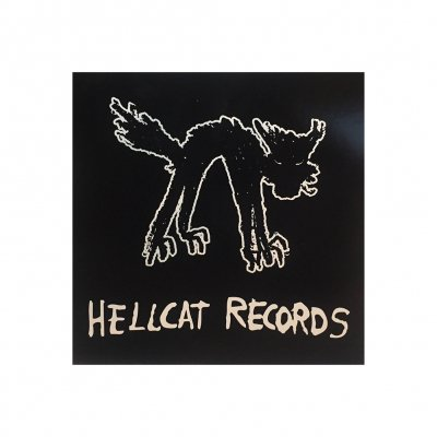 hellcat-records - Logo Sticker