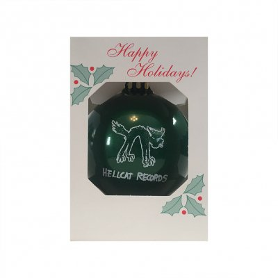 hellcat-records - Logo Christmas Ornament